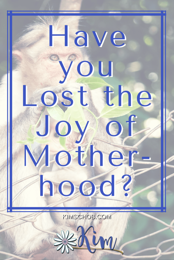 Have you Lost the Joy of Motherhood?