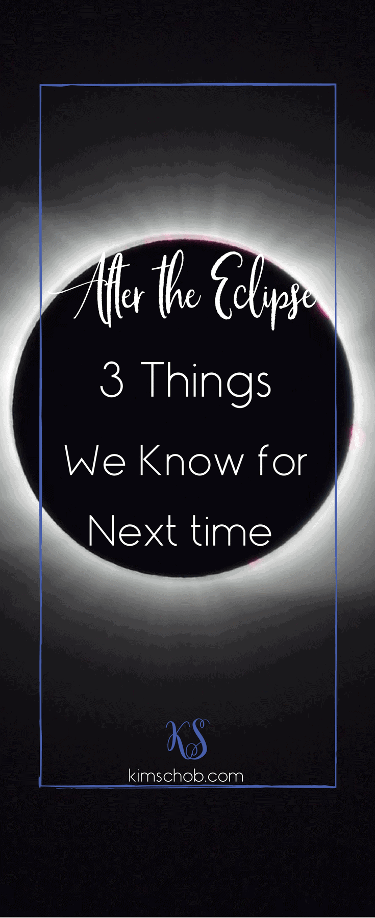 """After The Eclipse 3 Things, We Know for Next Time. It's more fun when it's a party, There is no need to panic & preparing depends on the """"Path of Totality.""""   kimschob.com  #2024 #kimschob #eclipse"""