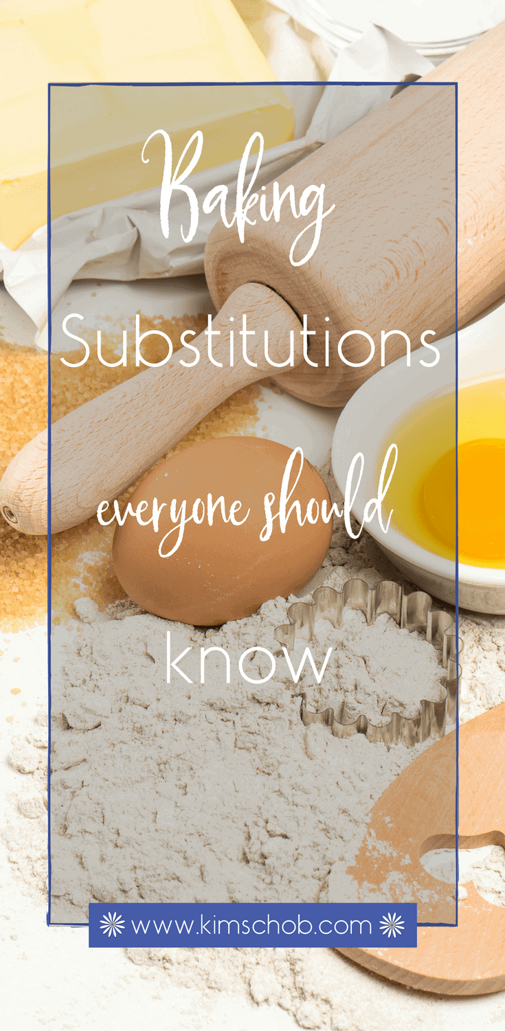 Baking Substitutions Everyone Should Know |, knowing a few primary baking substitutions can be beneficial when you have to bake for someone with specific allergies | kimschob.com