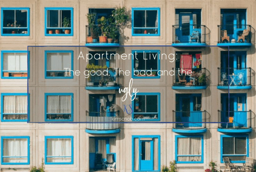Apartment Living: the good, the bad, and the ugly | kimschob.com