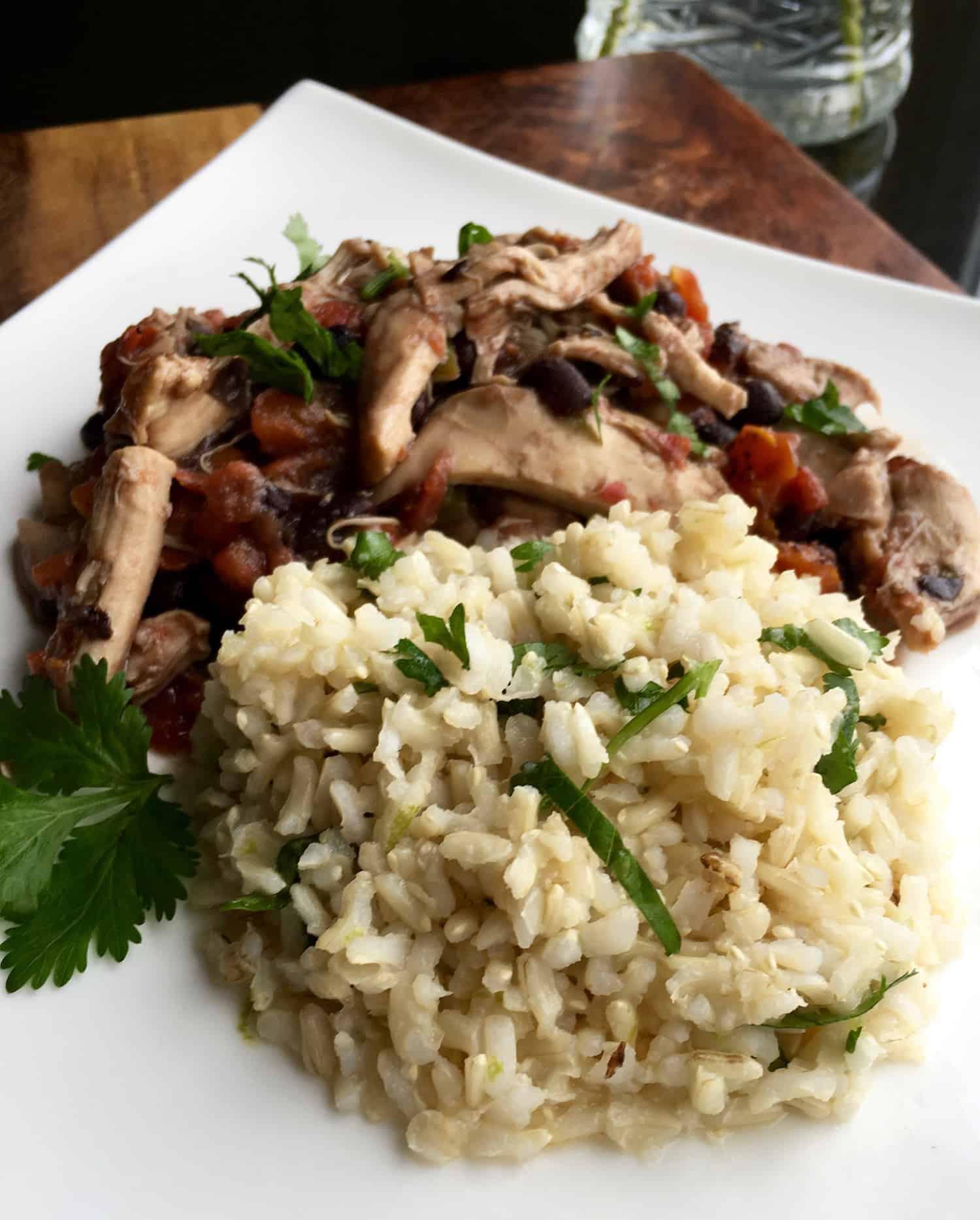 Cilantro-Lime Rice | kimschob.com #cilantro #sidedish