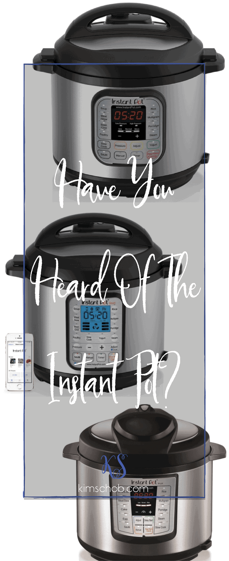 Have you heard of the Instant Pot? it\'s the perfect solution for those who like the idea of being able to cook a meal in minutes | kimschob.com #instapot #instantpot #kimschob