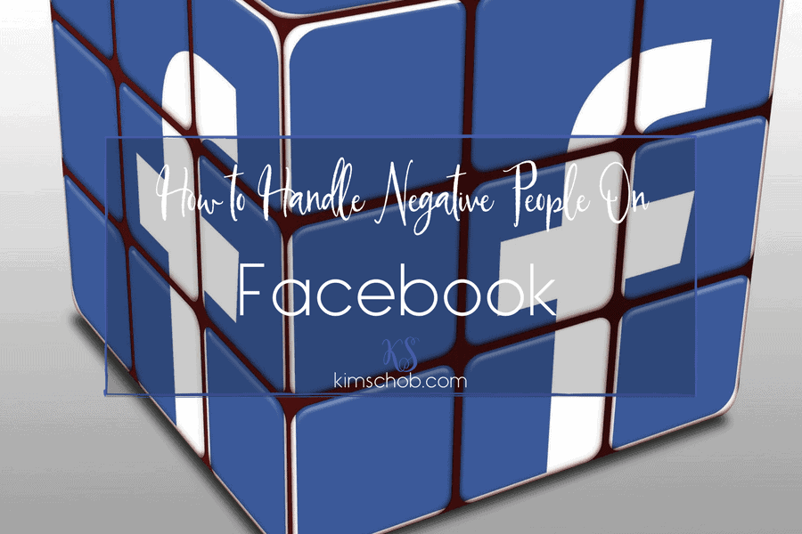 How To Handle Negative People on Facebook-#facebook