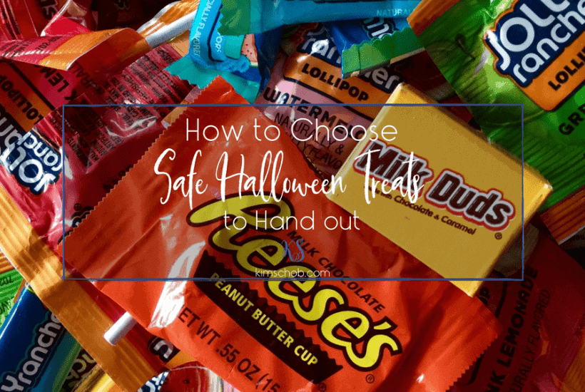 How to Choose Safe Halloween Treats to Hand out | kimschob.com