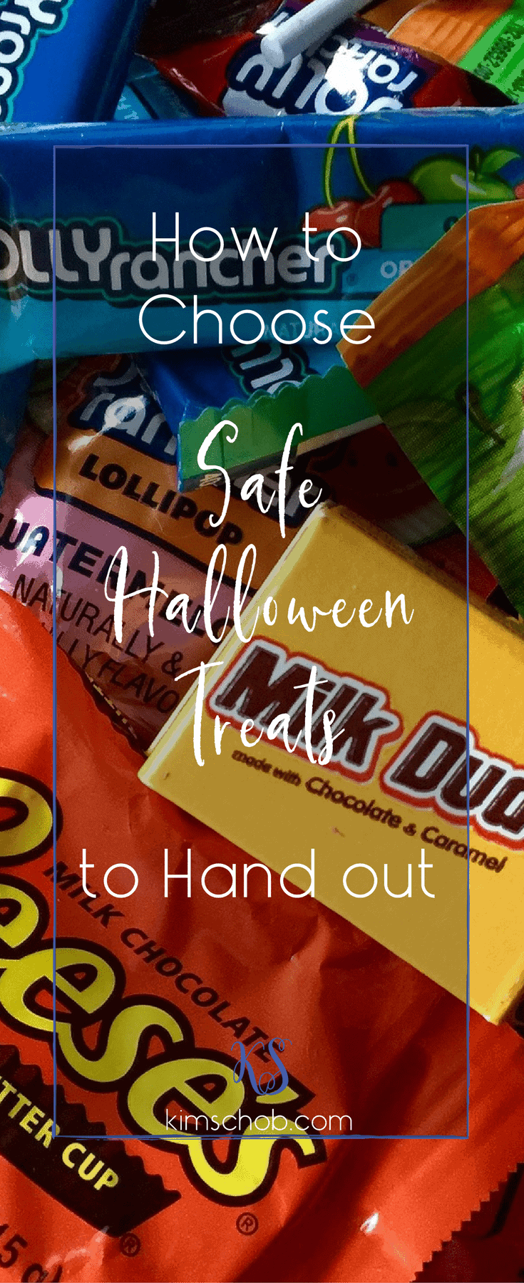 It\'s that time again: getting the candies and treats ready for trick or treaters. Here are tips to help you choose safe Halloween treats to hand out. #halloweentreats #halloween #halloweencandy