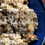 Slow Cooker Apple-Cinnamon Oats
