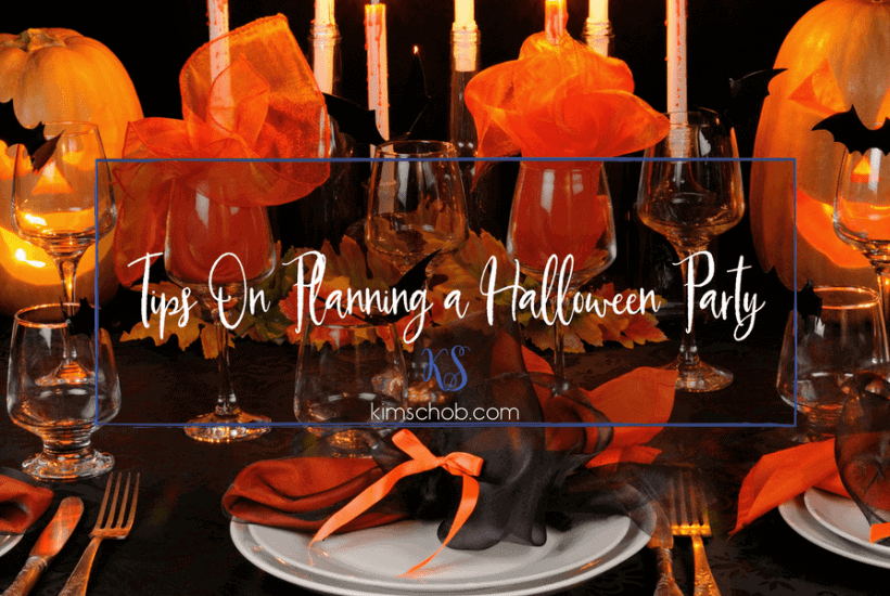 Tips On Planning a Halloween Party | kimschob.com