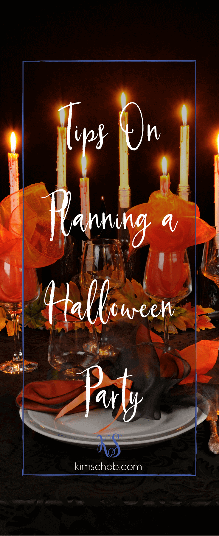 Tips On Planning a Halloween Party | kimschob.com #halloweenpartytips #halloween #partytips