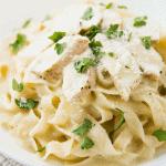 Instant Pot-Chicken Alfredo with Pasta • Kim Schob