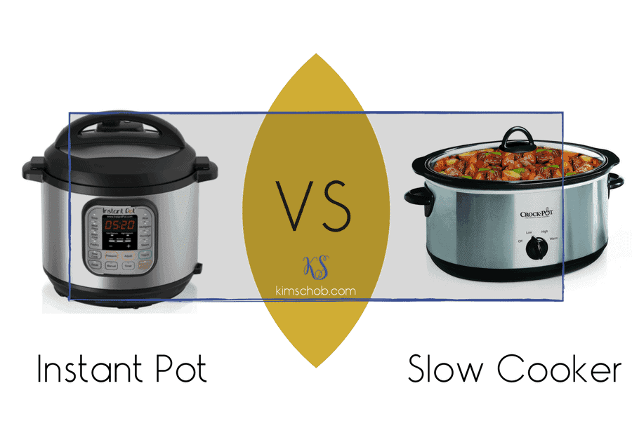 Instant Pot vs Slow Cooker