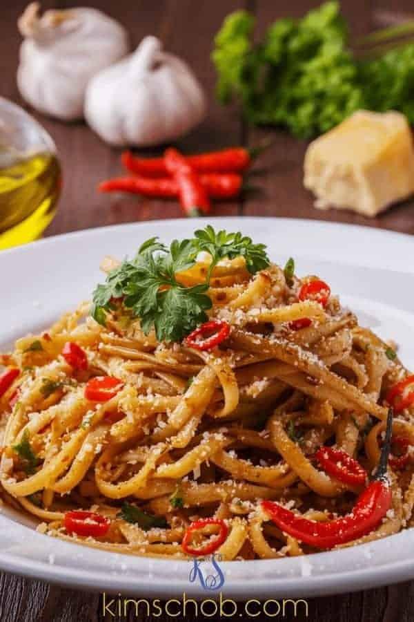 Zucchini Noodles with an Arrabbiata Sauce | kimschob.com