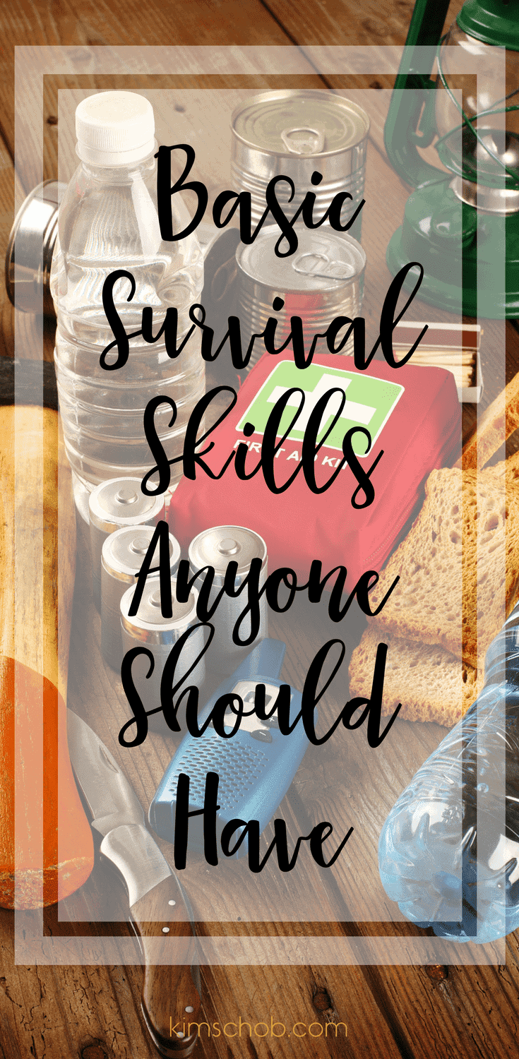 Basic Survival Skills Anyone Should Have | kimschob.com #survivalskills #survivalist