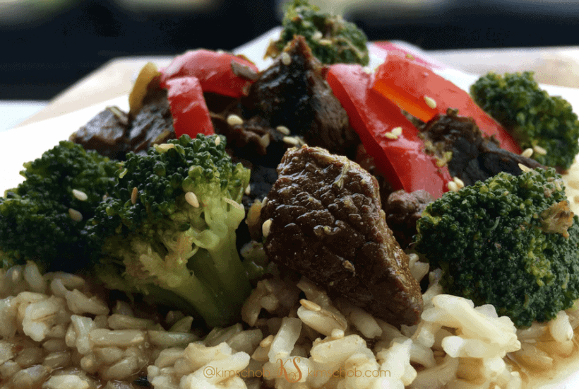 Slow Cooker Beef Broccoli |kimschob.com