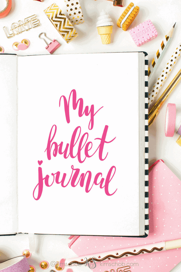 The Benefits of Keeping a Bullet Journal |#bulletjournal #organization #lifestyle | kimschob.com