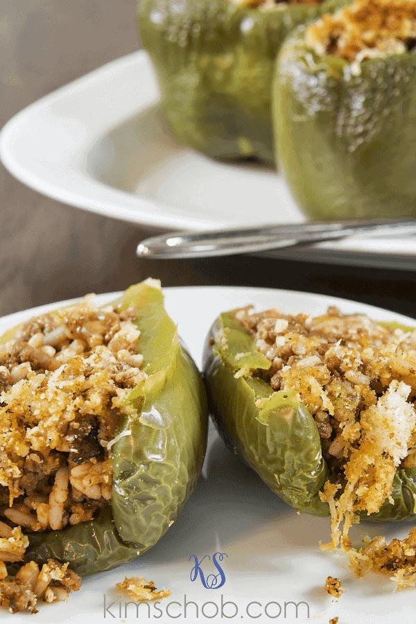 Instant Pot-Stuffed Peppers | kimschob.com