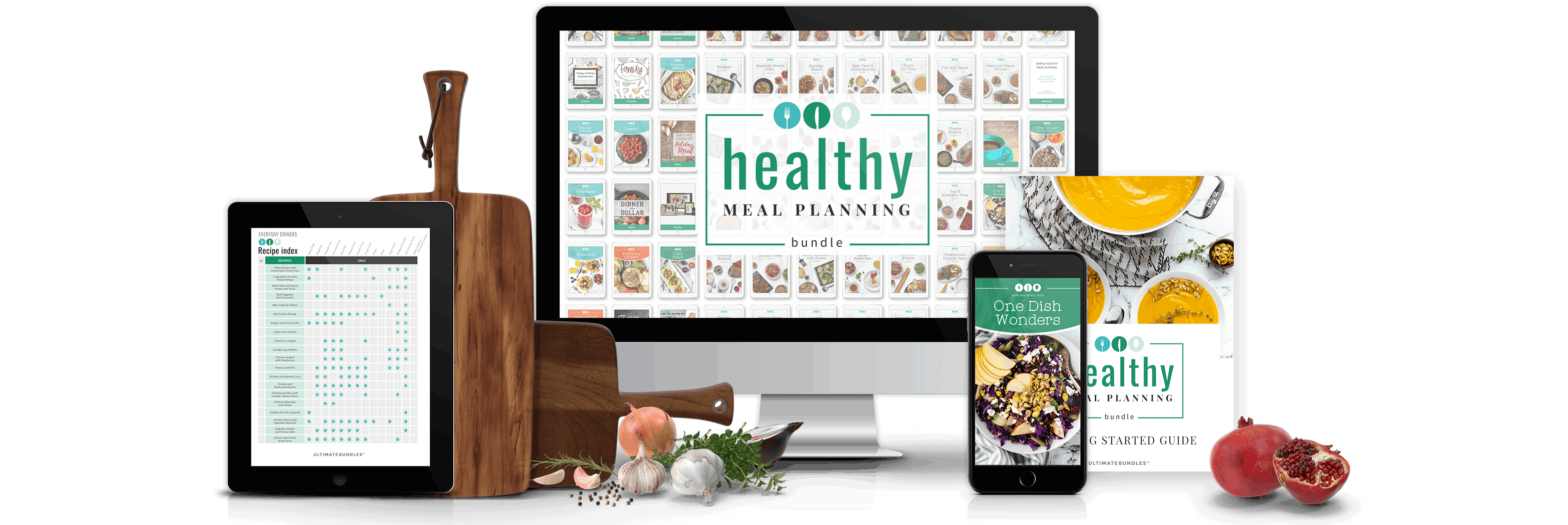 Healthy Meal Planning Ultimate Bundle full bundle photo