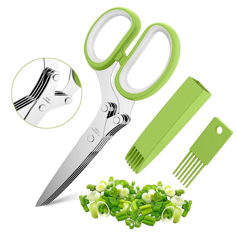 herb scissors cooking gadget gift kitchen | kimschob.com