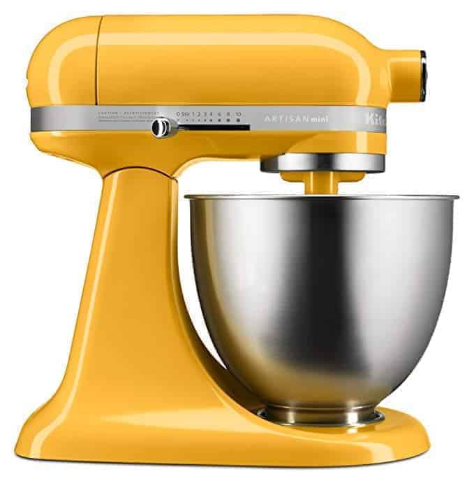 A Orange KitchenAid stand mixer Gifts for cooks | kimschob.com