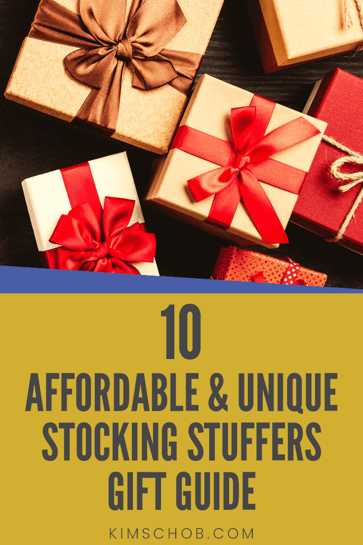 10 Affordable and Unique Stocking Stuffers Gift Guide • Kim Schob