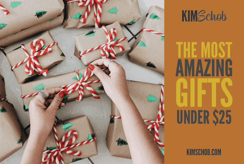 gifts under $25| kimschob.com