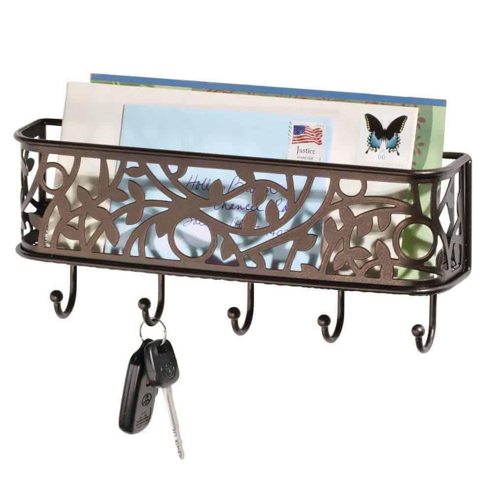 decorative wall keyholder organize homegoods gift | kimschob.com