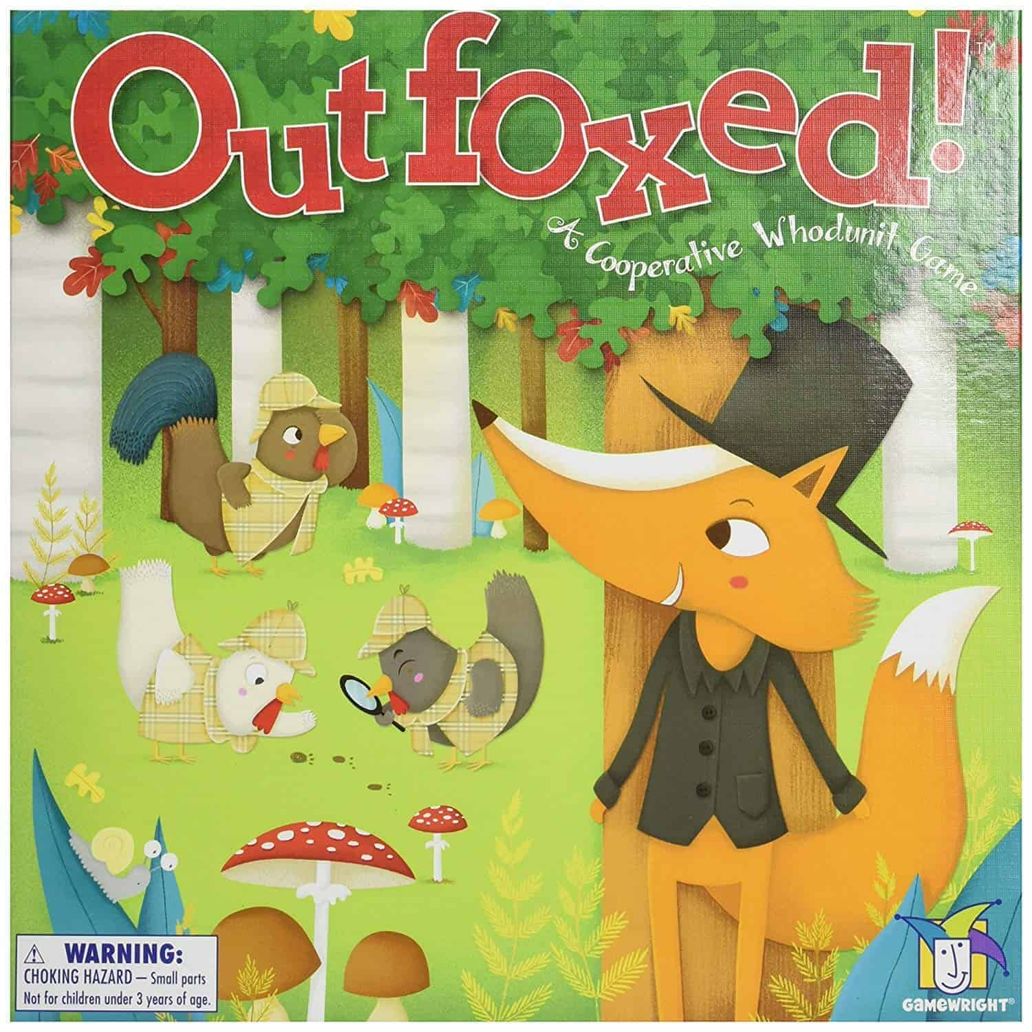 outfoxed board game gift idea family fun | kimschob.com