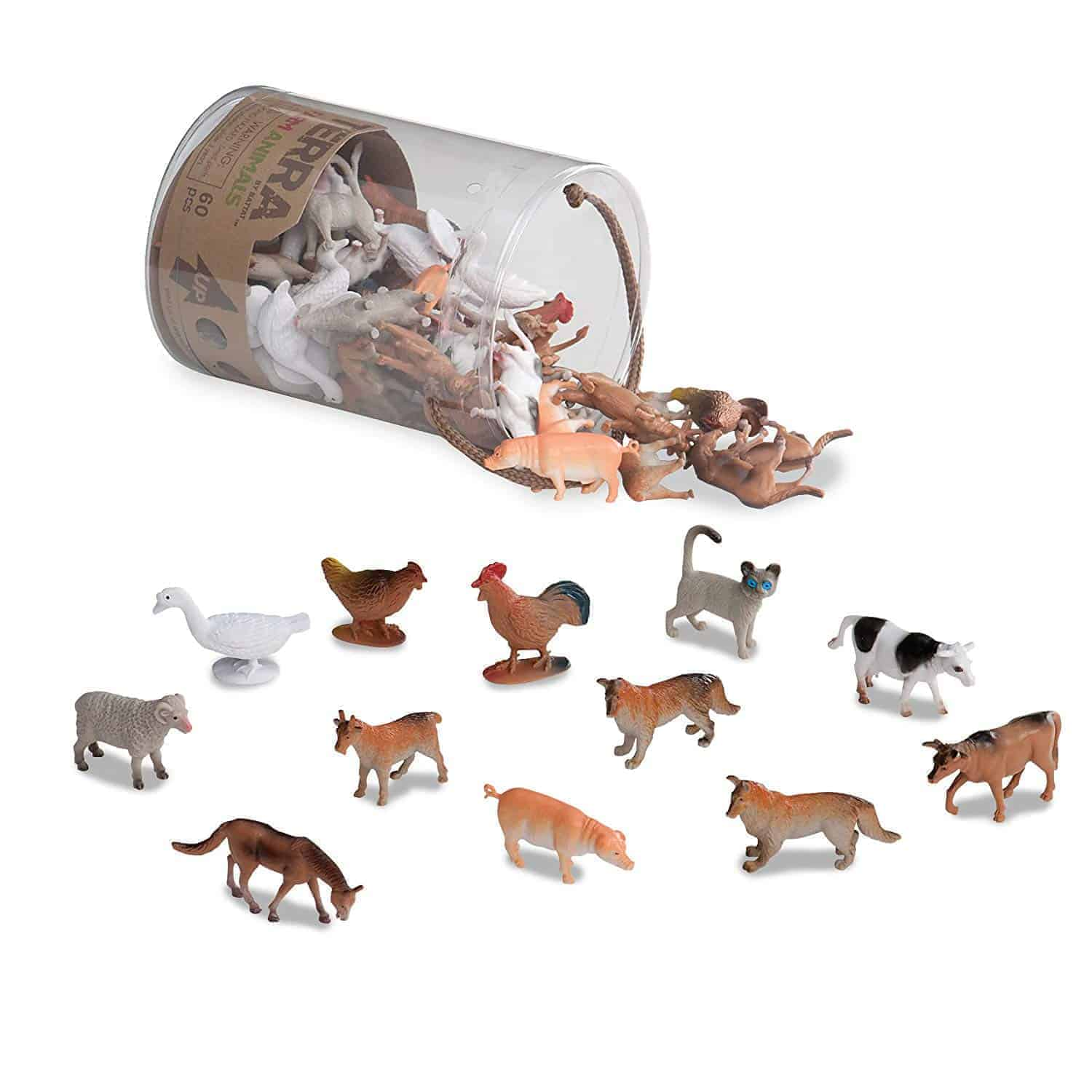mini farm animals gifts toys figures | kimschob.com