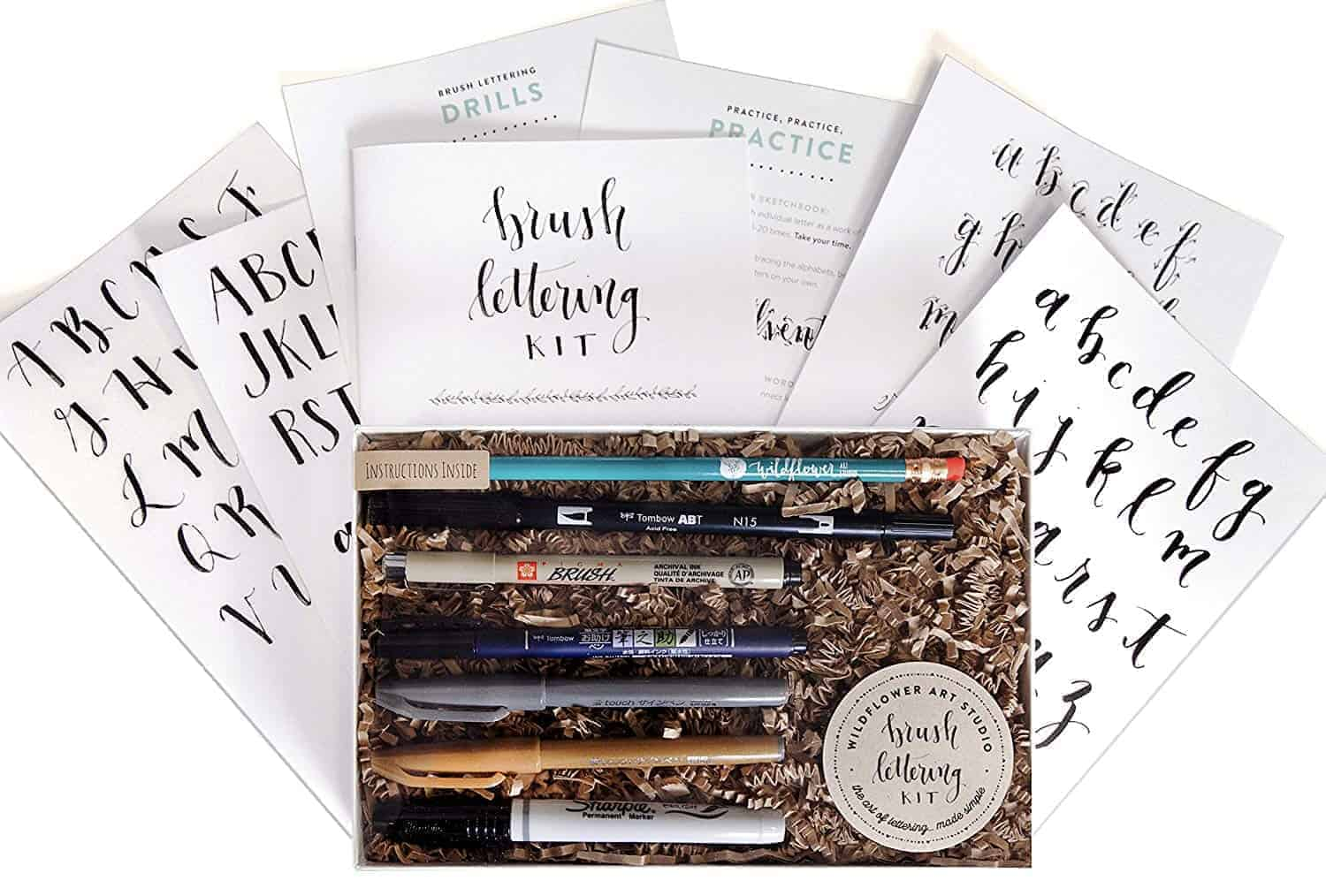 hand lettering kit typography | kimschob.com