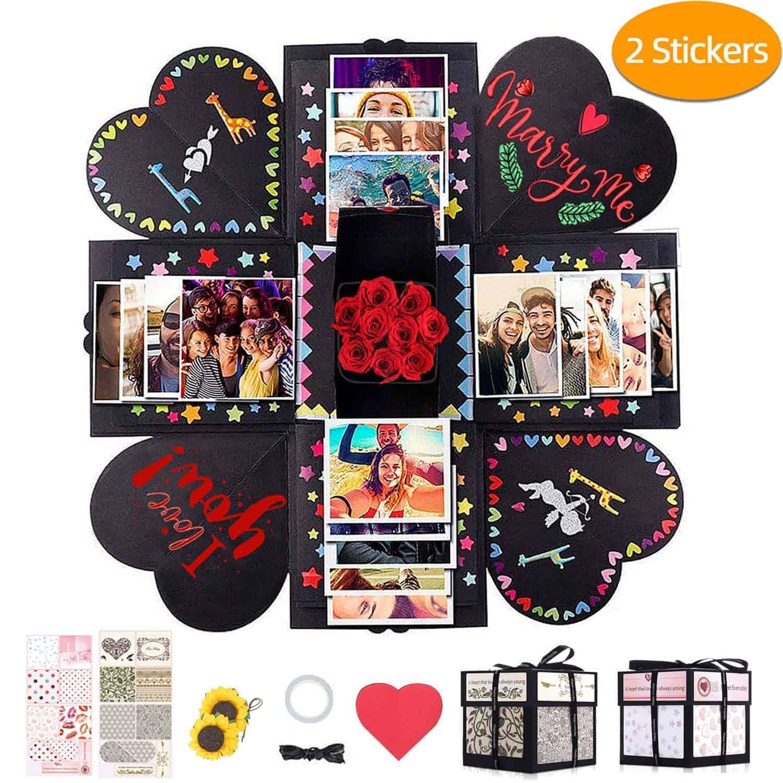explosion gift box | kimschob.com