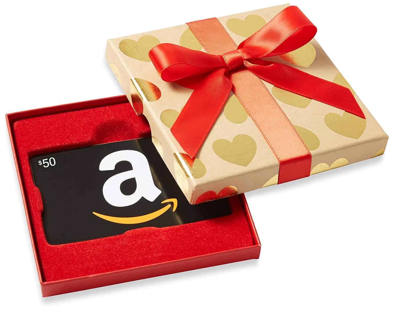 amazon gift card festive box | kimschob.com