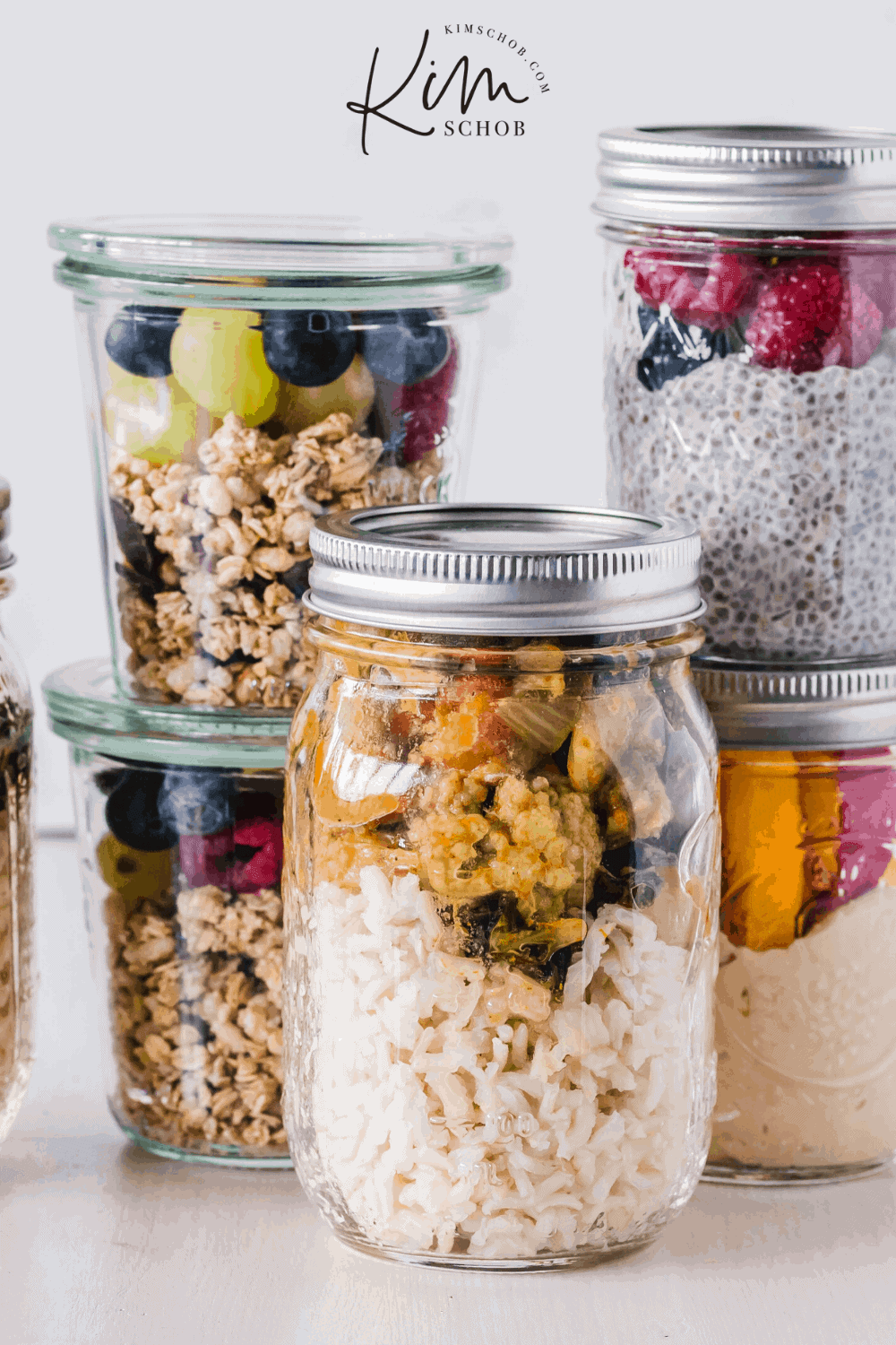 Easy Meal Prep Ideas For A Healthy New Year | kimschob.com