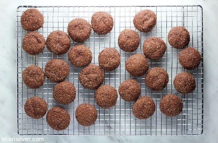 hot choc cookies