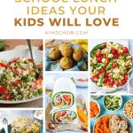 11 School Lunch Ideas Your Kids Will Love | kimschhob.com