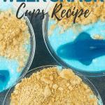 4 Ingredient Shark Week Snack Cups Recipe | kimschob.com