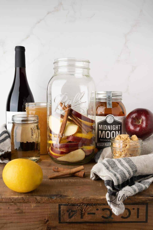 Apple Shine Sangria Ingredients 2