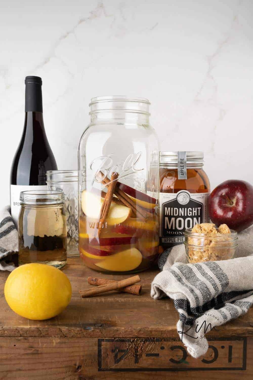 Apple Shine Sangria Ingredients 3
