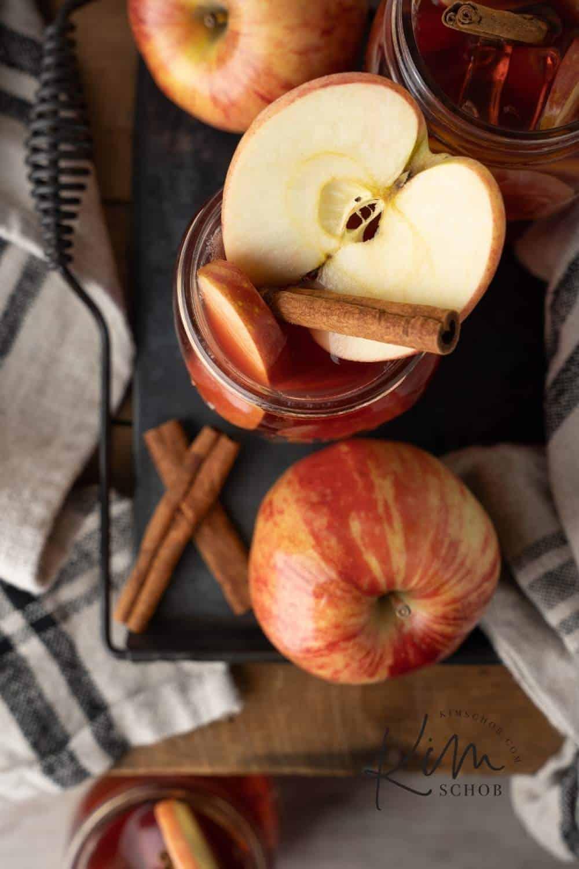 Apple Shine Sangria   kimschob.com