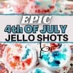 Epic 4th of July Jello Shots   kimschob.com