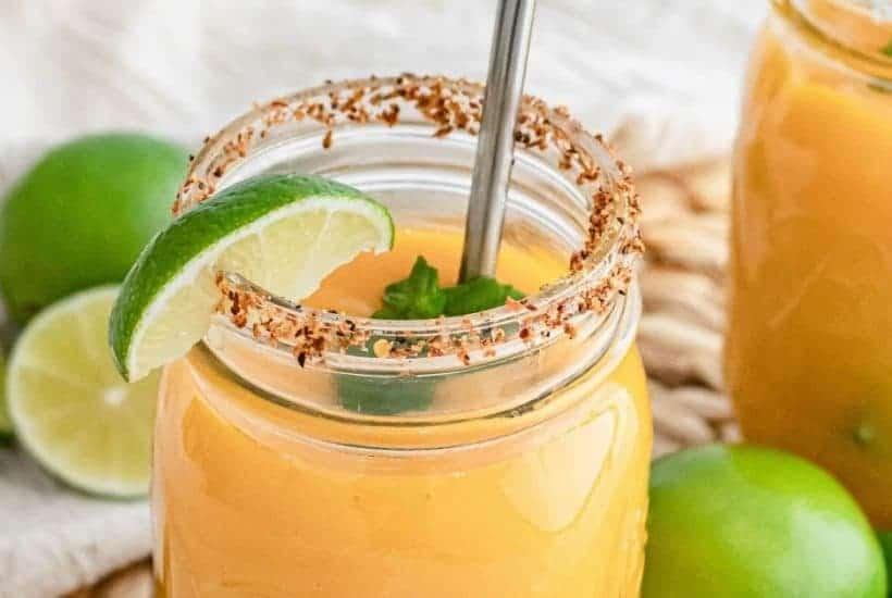 Fresh Mango Margarita Recipe | kimschob.com